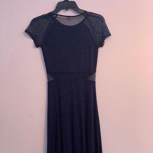 Garage navy blue dress